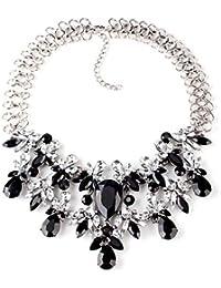 Mehrfarbige Perlen/halskette Damen/ Brautschmuck Uhren & Schmuck Perlenkette
