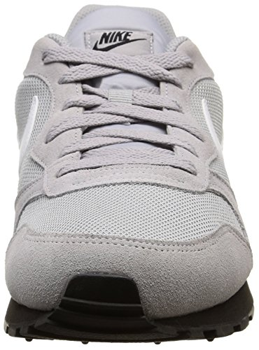 Nike Herren Md Runner 2 Laufschuhe Grau (Wolf Grey / White-Black)