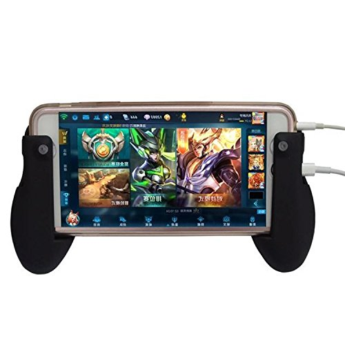 Generic Mobile Phone Tablet Stand Holder Gamepad Grip for Touch Screen Game One Piece