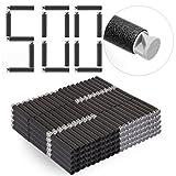 DUS 500 Stück Darts Pfeile Schaumstoff Refill Bullets Nachfüllpack für Nerf Elite/Nerf Modulus/Nerf Zombie
