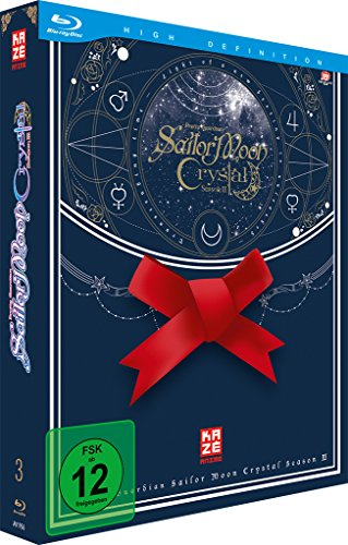 Sailor Moon Crystal - Vol. 5 (+ Sammelschuber) (Episoden 27-33) [Blu-ray] [Limited Edition]