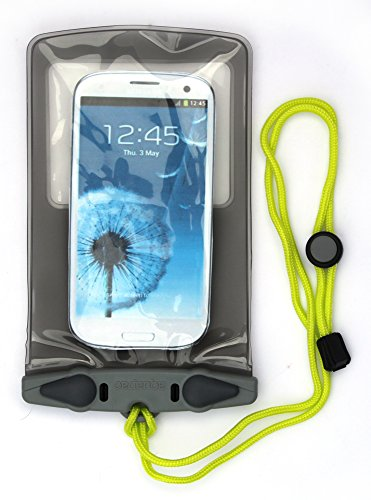 AQUAPAC wasserdichte Tasche Electronik, transparent/grau, Small, 348 -