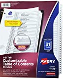 Best Avery Dividers - AVE11128 - Avery Classic Table of Contents Divider Review