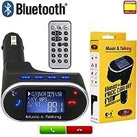 Wireless Bluetooth Handsfree Car Kit FM Transmitter Modulator Car mp3 Player With Mic