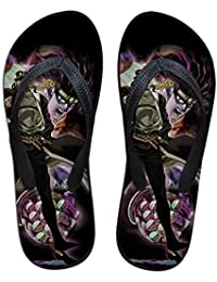 Ghgfjkjhhl JoJo's Bizarre Adventure Flip-Flops for niños y niñas de vanguardia clásica Sandalias de Verano Zapatillas de casa Estilo Simple (Color : A06, Size : EU39 US7.5)