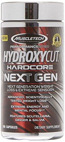 Muscletech Hydroxycut Hardcore Next Gen Cápsulas - 100 Unidades