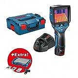 Caméra thermique GTC 400 C dans L-BOXX + visseuse sans-fil GSR 12V-15 + set d'accessoires 39 pièces dans i-BOXX + i-Rack BOSCH 06159940l2