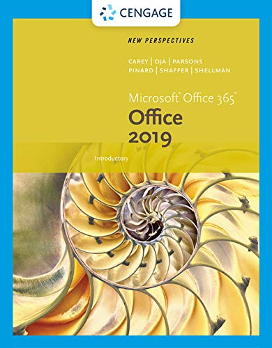 New Perspectives Microsoft Office 365 & Office 2019 Introductory (Mindtap Course List) Twill Visor