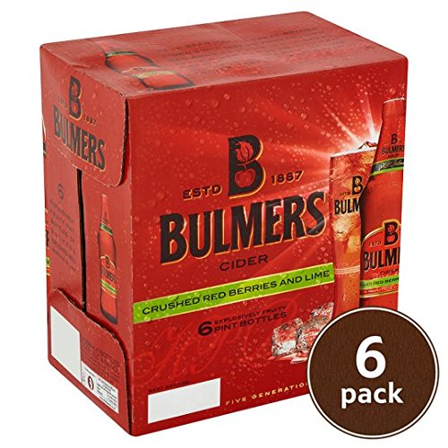 bulmers-no17-crushed-red-berries-lime-cider-6-x-568ml-pint-bottles