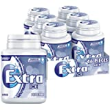 Extra Chewing Gum, Sugar Free, Ice Peppermint Flavour, 6 Packs of 46 Pieces
