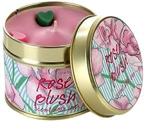 Bomb Cosmetics Bougie parfumée Boîte métal Rose Blush