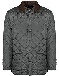 Soul star-veste matelassée pour homme avec motifs losanges et cordaufnähern