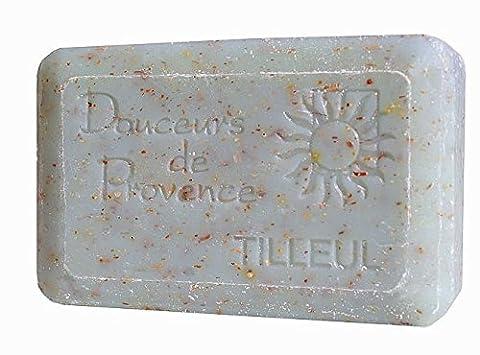 Savon naturel et exfoliant Tilleul 200 gr - Provence - Produit Local (Naturale Esfoliante)