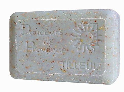 Sapone naturale e Esfoliante Tiglio 200gr-Provence-Prodotto locale (Naturale Esfoliante)