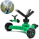 Generic 3 Arms Garden Lawn Sprinkler Garden Yard Irrigation System 360 Degree Sprayer Head Garden Lawn Water Saving Gardening Tools