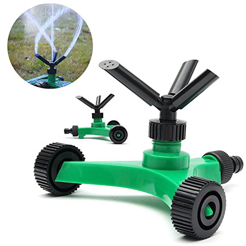 3 Arms Garden Lawn Sprinkler Garden Yard Irrigation System 360 Degree Sprayer Head Garden Lawn Water Saving Gardening Tools