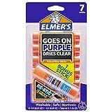 Elmer de Disparition Violet Bâtons de colle avec Bonus Recollent bâton de colle, 6+ 1Lot 6,2 ml 6-Pack Plus 1 Bonus ReStick