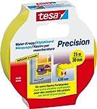 Tesa 56590-00000 Maler-Krepp Precision für extra flache Farbkanten, 25 m x 30 mm