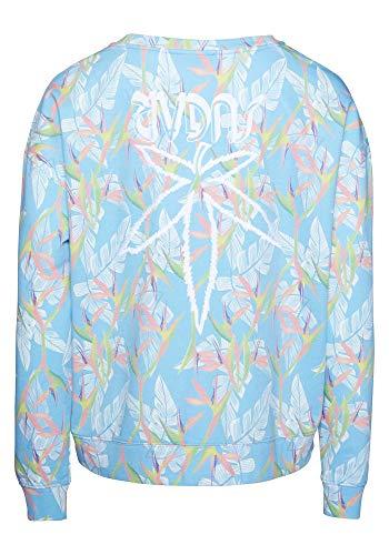 Chiemsee Damen Sweatshirt Woman Light Bl. White, XS White Womens Sweatshirt