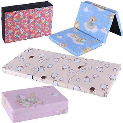 Colchón/ Cama Infantil de Viaje 120x60 Colchón Plegable Portable