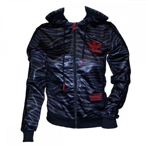 adidas Damen Chile 62 Damenjacke O55572, Farbe:Schwarz;Bitte Größe wählen:40