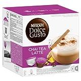 Nescafé Dolce Gusto, Capsule da Chai Tè Latte, Pacco da 16
