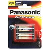 Battery, Photo al litio 2CR56V 2CR5M by Panasonic Electronic Components