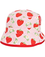 Toby Tiger Girl's Strawberry Reversible Sunhat Hat