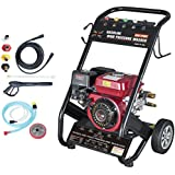Dirty Pro Tools™ Heavy Duty 240 BAR 3500PSI 7HP (not 6.5HP) Petrol Driven Pressure Power Jet Washer