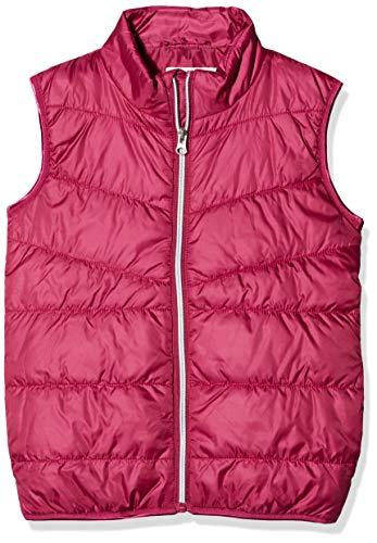 NAME IT Mädchen Weste NKFMYLANE Vest, Rosa (Anemone), (Herstellergröße: 134)