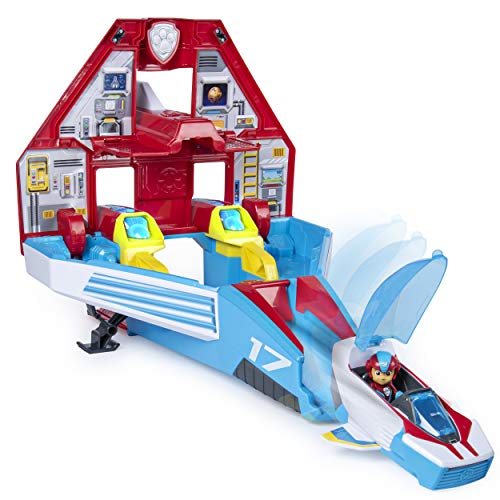 Paw Patrol – 6053098 – Jeu enfant – Supersonic Jet Mighty Pups – La Pat' Patrouille