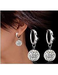 4d9e4282bb02 Corea del Sur Shen Miner con el párrafo s925 plata pura oreja aguja circón  pendientes pendientes borla larga…