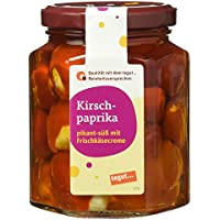 Tegut Kirschpaprika mit Frischkäsecreme, 260 g