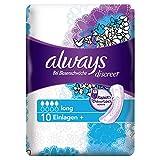 Always Discreet Inkontinenz Einlagen plus Long Bei Blasenschwäche Einzelpack