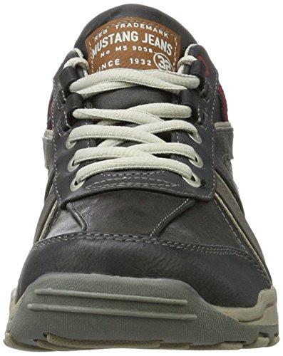Mustang Herren 4027-316-200 Sneaker Grau (Stein)