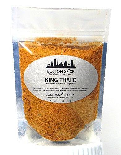 Boston Spice Rey Thai'd marea oriental asiática china Mezcla de Condimentos para...
