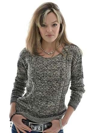 Esprit - Pull Esprit Casual rn sweater noir - Taille M