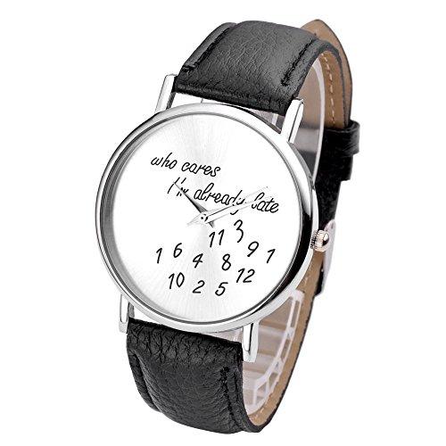jsdde-nouveau-montre-bracelet-analogique-pour-femmes-hommes-avec-des-ecrits-droles-who-cares-im-alre
