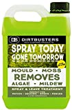 Dirtbusters Spray Today Gone Tomorrow 5 Litre Patio Decking Fence Drive Cleaner eco friendly formula which is not harmful to aquatic life Mould Mildew Moss Algae Lichen Killer Green Growth Remover (1)