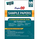 Super 20 Sample Papers (As Per Reduced Syllabus & the Latest CBSE Sample Papers for 2021 Exam) Class 10 Combined Book -For Al