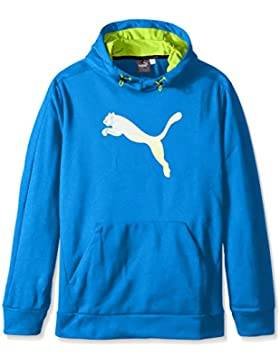 Hombre Striker Tec Hoody Fleece, Puma Royal, Medio