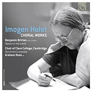 Imogen Holst: Choral Works (Clare College, Cambridge)