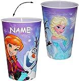 alles-meine.de GmbH 3-D Effekt - Bild _ Trinkbecher / Becher -  Frozen - Disney die Eiskönigin  ..