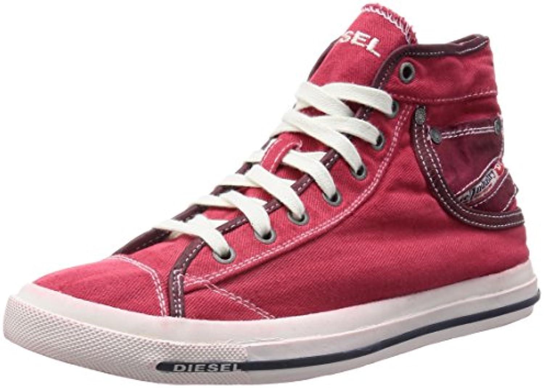 Diesel Exposure I Herren High Top Sneaker Farbe Tango Red Gr. EU 42