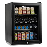 Subcold Super65 LED - Midi Fridge | 65L Beer, Wine and Drinks Fridge | LED Light + Lock and Key | Low Energy A++
