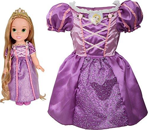 Toddler Kostüme Rapunzel (Disney Princess Rapunzel Toddler Doll & Girl Dress Gift Set by Disney)
