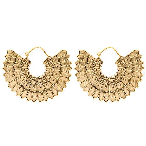 81stgeneration-femmes-laiton-ton-dor-gyptienne-inspirouge-aile-tribal-ethnique-pendants-boucles-dore