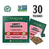 VAHDAM, tè dolce alla cannella di Masala Chai | 30 bustine di tè (set di 2) | Spezie al 100% naturali | Antica ricetta del tè alla cannella bustina di tè speziato Chai | Dall'India