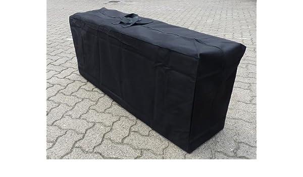 Tragetasche für 4 Auflagen 130x32x50cm Schutzhülle Auflagen Auflagentasche