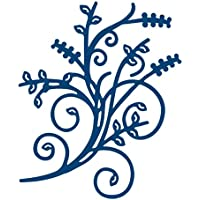 Tattered Lace elegante Flourish-Fustella metallica a forma di carta